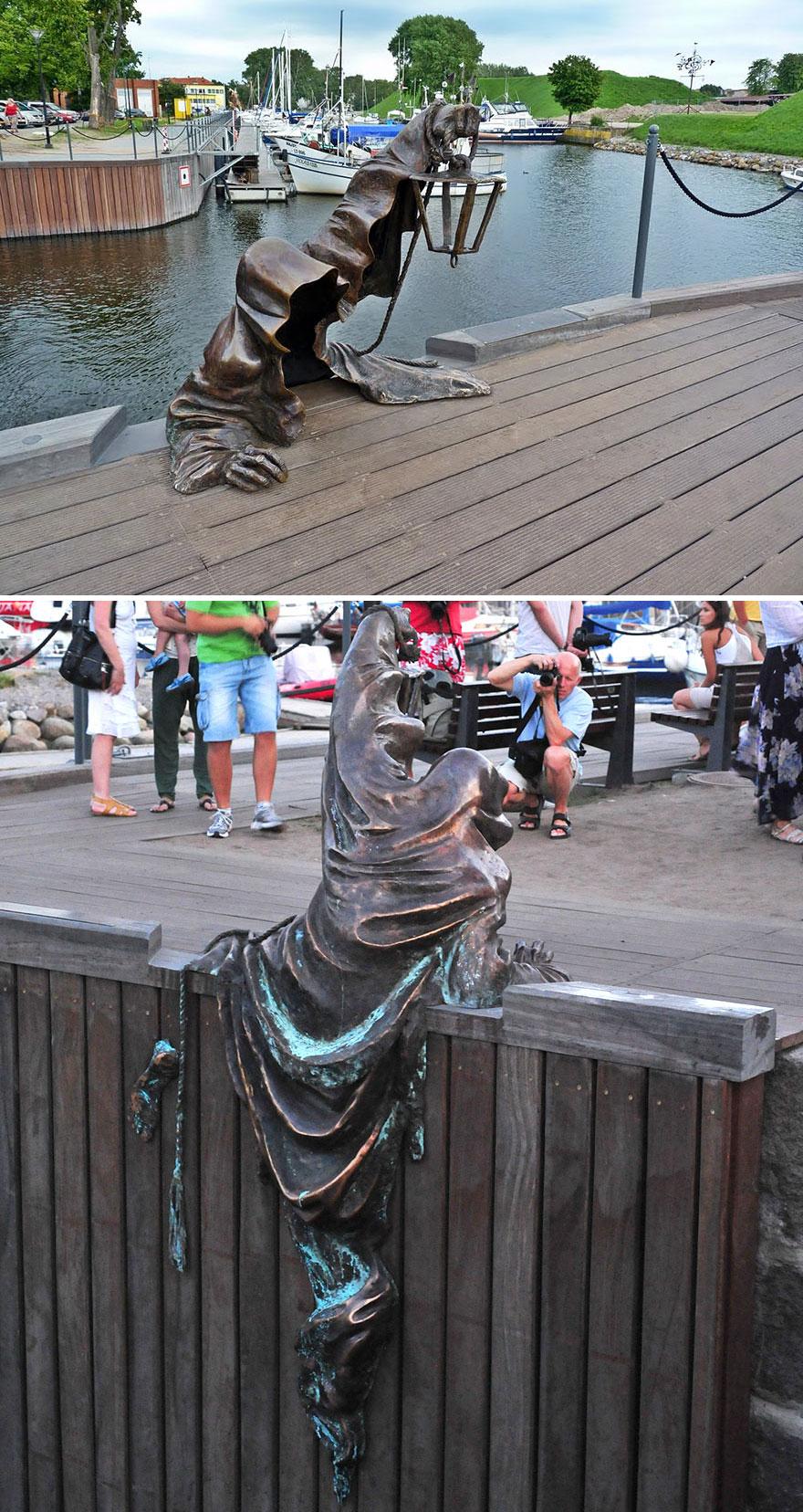 5. Черный призрак, Литва.