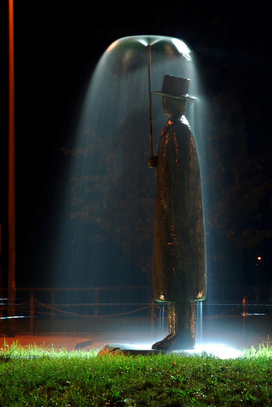 8. Человек дождя, Италия.