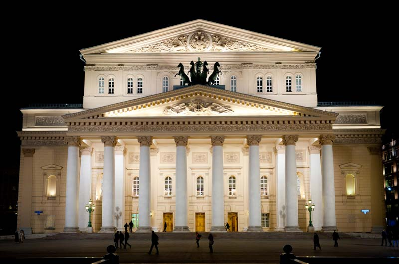 7. Большой театр России – один из самых крупных в России и один из самых значительных театров оперы и балета в мире. Расположен в Москве на Театральной площади.