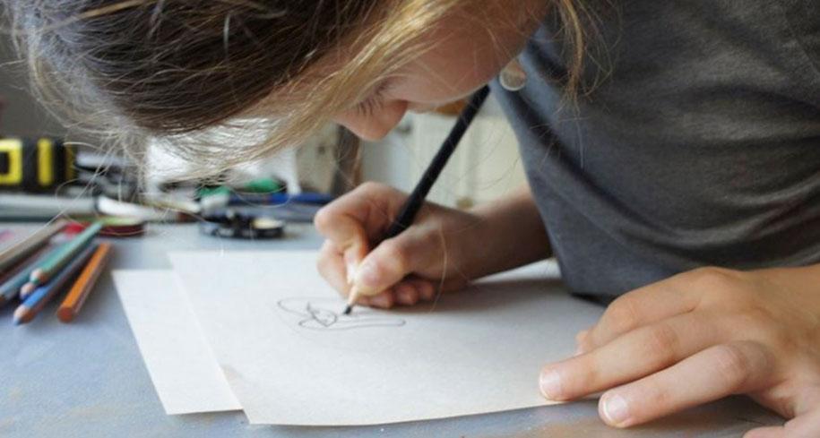 4. «Лучший способ стимулировать творчество ребенка – показать важность его творений», говорит Ясмин.