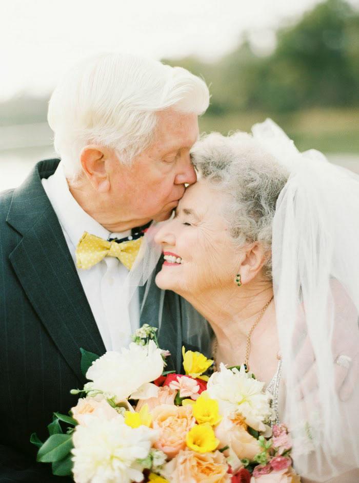 1. Ванда и Джо женаты вот уже 63 года, и их любовь друг к другу все так же сильна, как и в первый день их свадьбы.