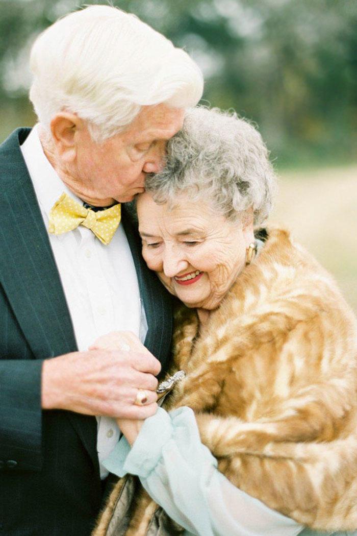 6. Эти фотографии являются частью ее проекта под названием «Любовь, Нельсоны», который она посвятила теме любви на всю жизнь.