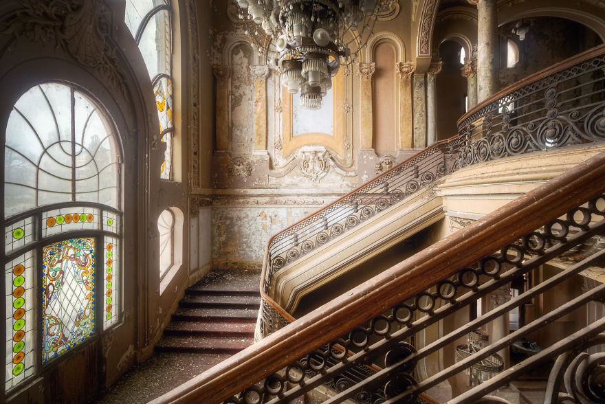 10. Лестница со стороны.