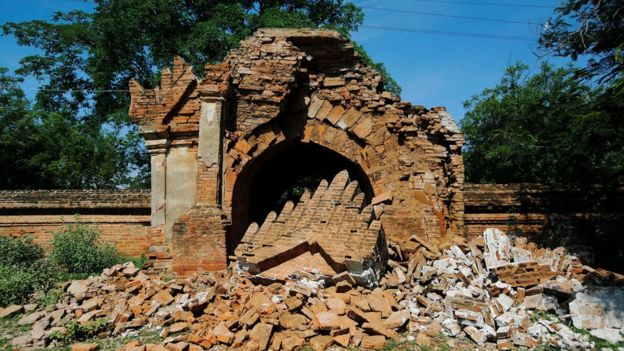 6. Паган является одним из самых известных исторических мест в Азии и популярным туристическим объектом Мьянмы.
