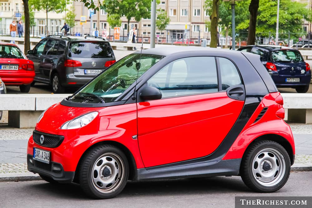 5. Smart ForTwo.