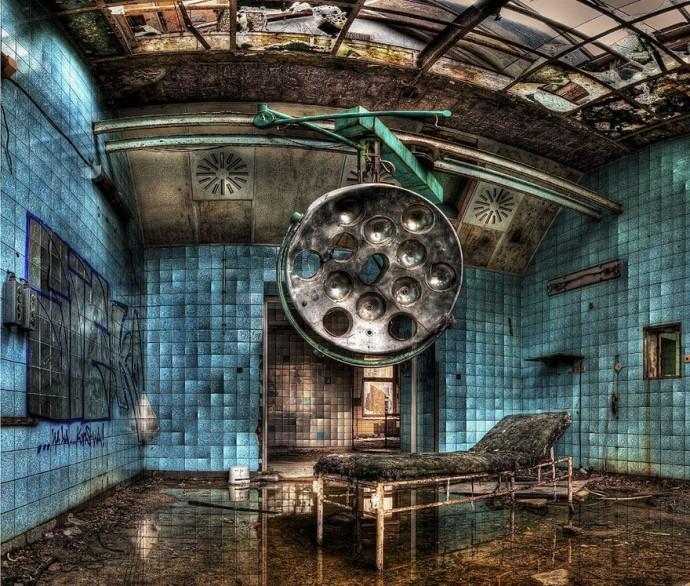 8. Заброшенный военный госпиталь в Белиц, Германия.