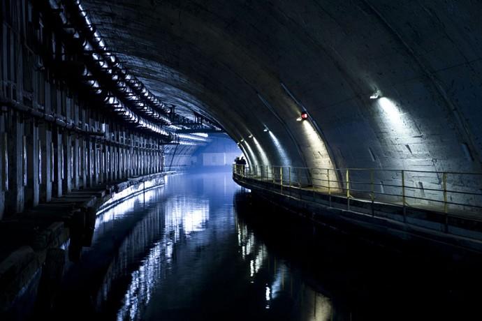 9. Объект 825ГТС - Заброшенная база подводных лодок в Балаклаве, Украина.