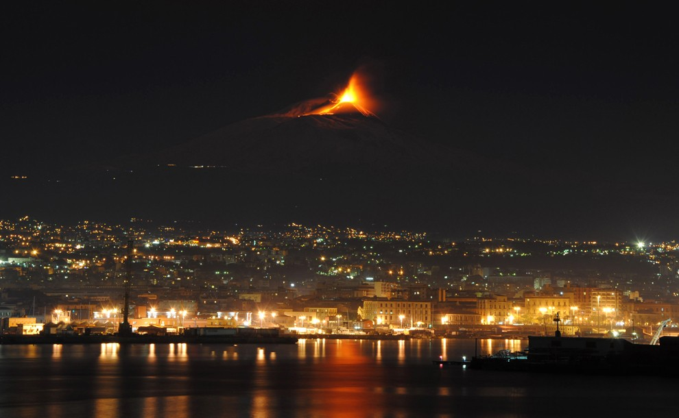 9. Везувий – Италия.