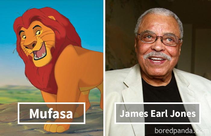 14. «Король Лев»: Муфаса – Джеймс Эрл Джонс.
