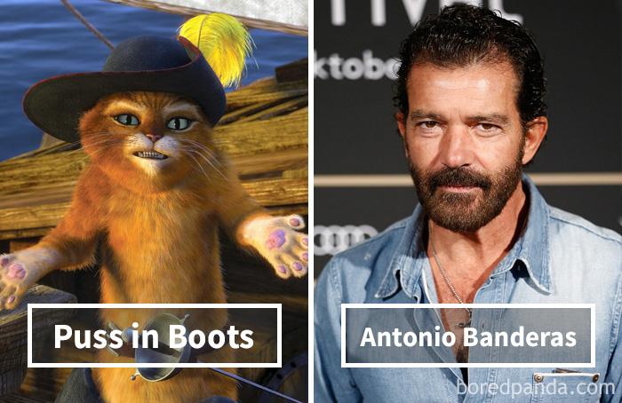 5. «Кот в сапогах»: Кот в сапогах – Антонио Бандерас.