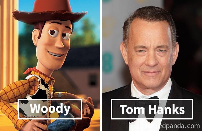 6. «История игрушек»: Вуди – Том Хэнкс.