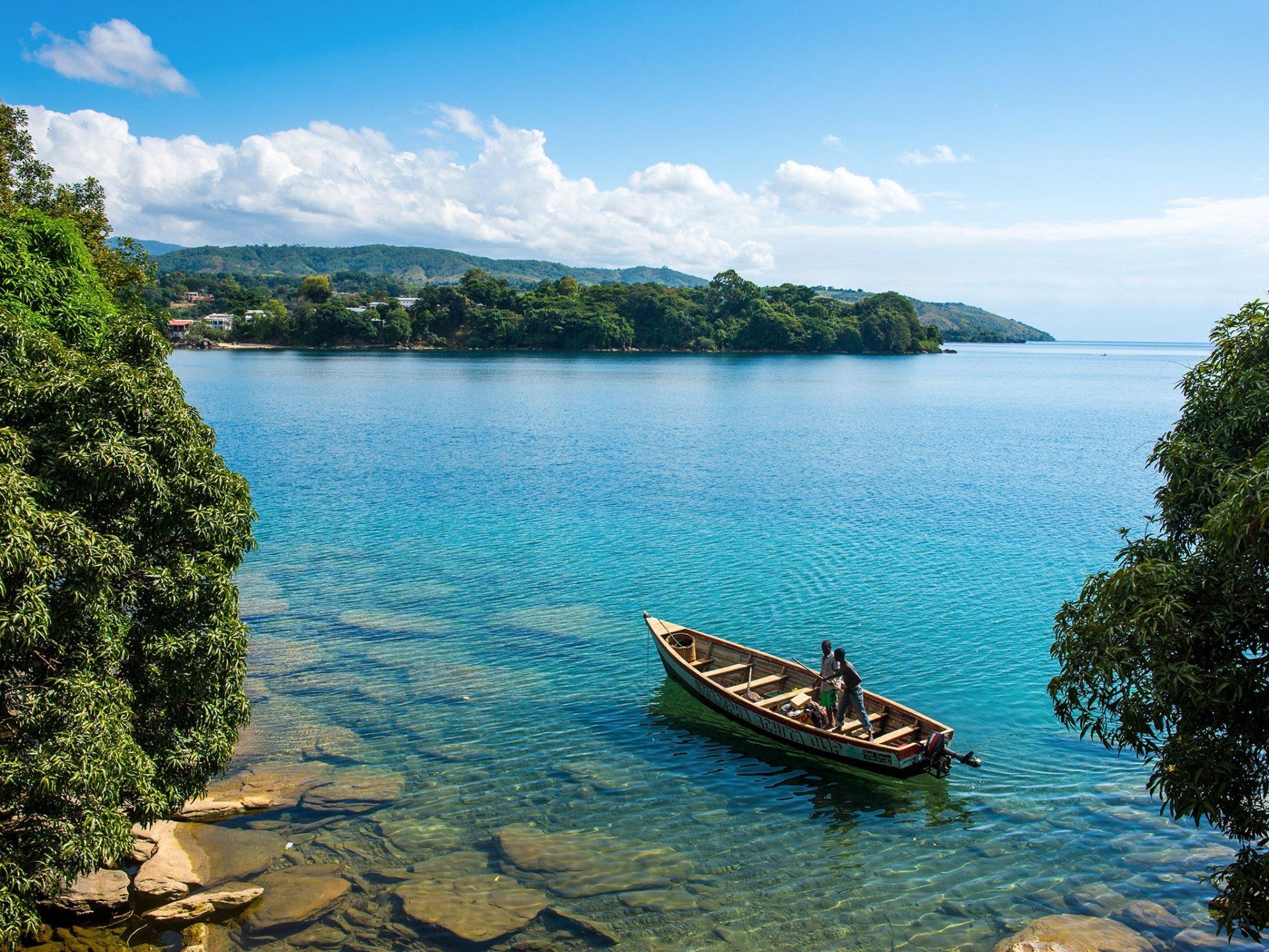 4. Озеро Малави, Малави, Мозамбик и Танзания.