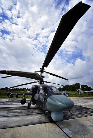15. Многоцелевой Вертолет Ка-52.