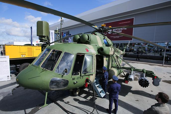 3. Вертолет Ми-17В-5.