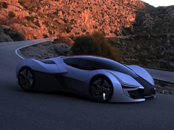 2. 2025 Aerius EV hypercar.