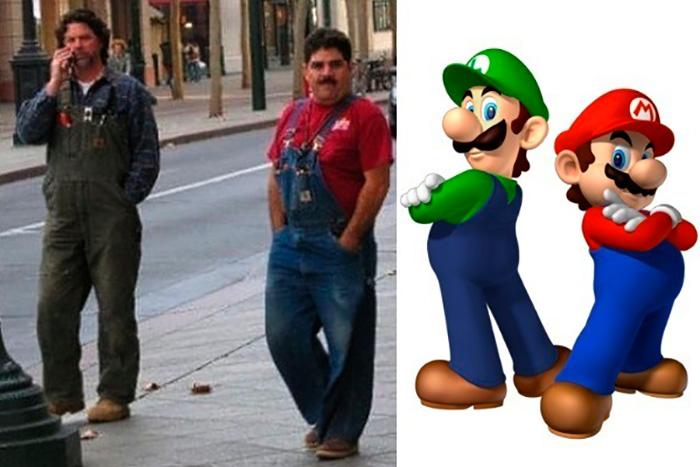 13. Марио.