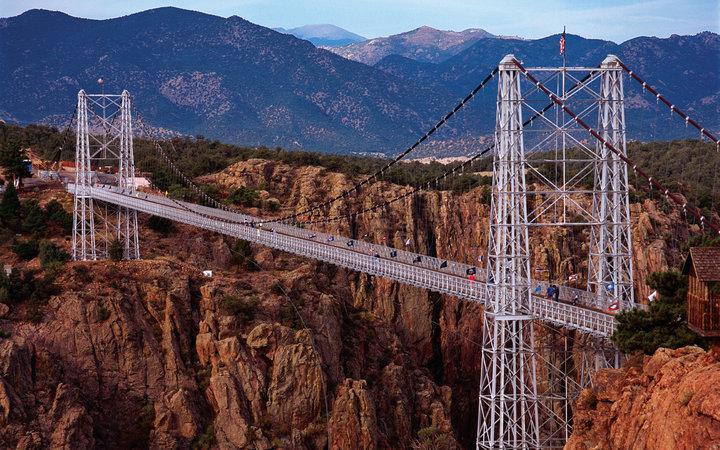1. Мост Королевского ущелья, Колорадо, США.