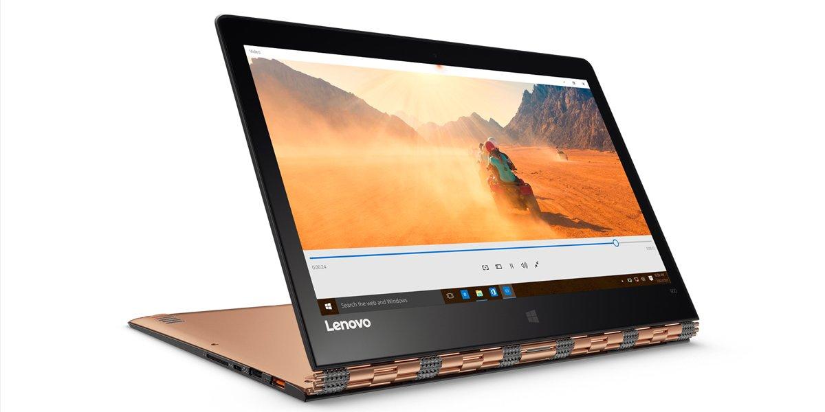 4. Lenovo Yoga 900s. Максимальная толщина 1,27 см