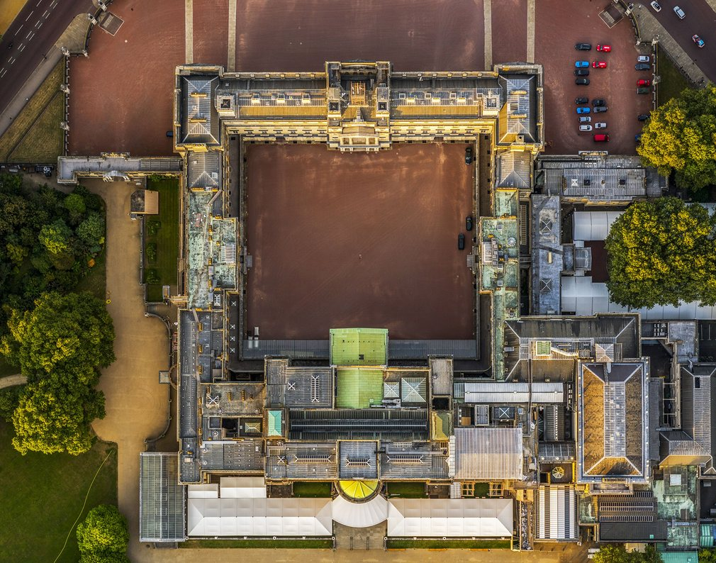 11. Букингемский дворец.