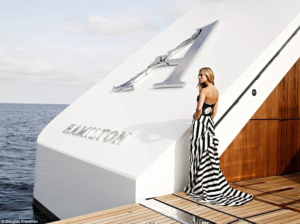 3. Яхта входит в список 25 самых роскошных яхт в мире.