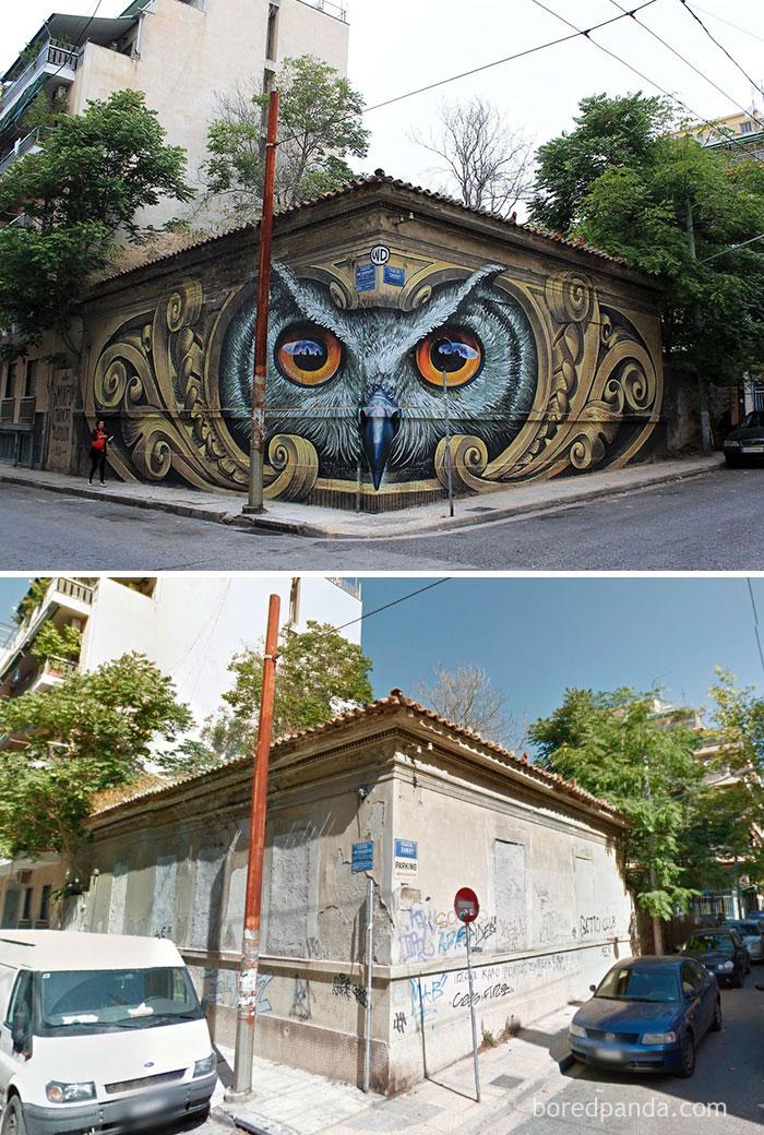 1. Стрит-арт в Афинах, Греция.