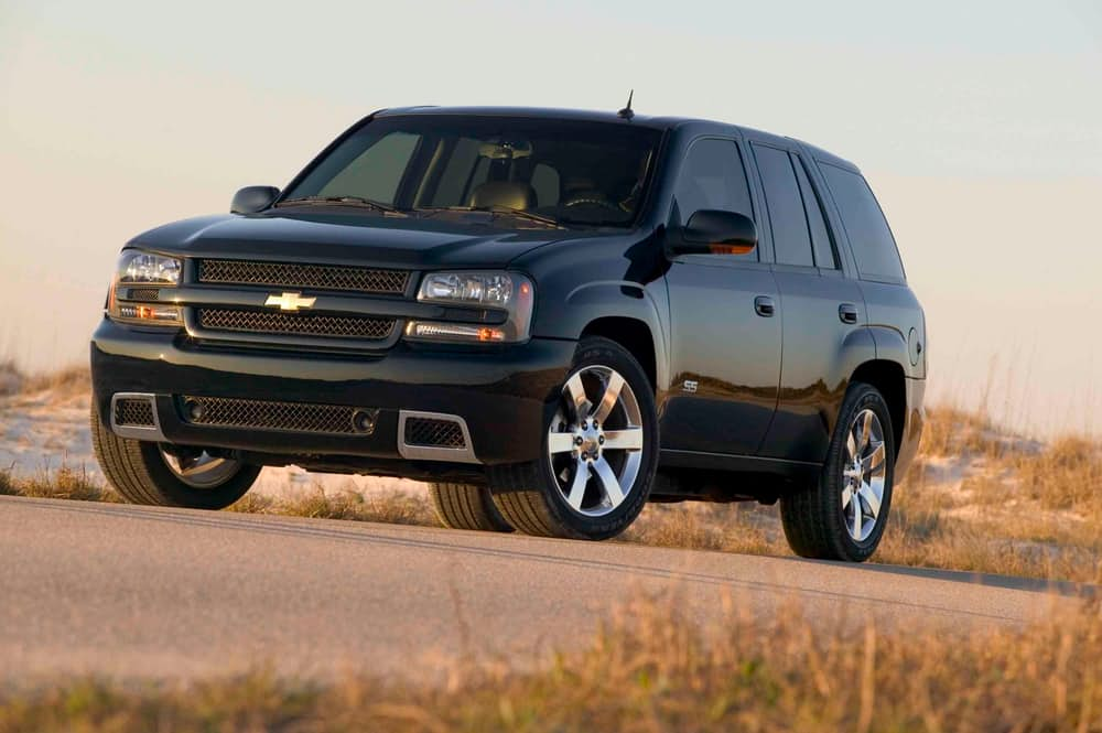 8. Chevrolet TrailBlazer.
