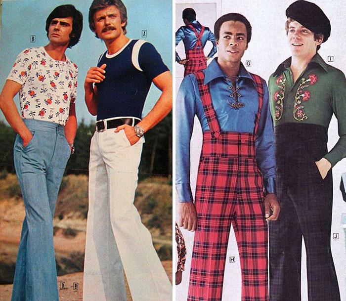 13. Брюки клеш были очень модны и в СССР.