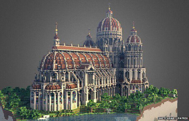 Чудеса света мира в игре Minecraft