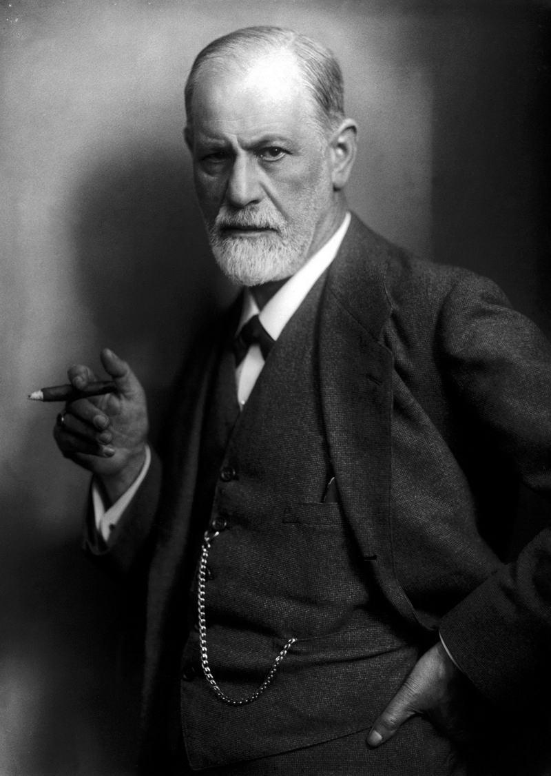6. Зигмунд Фрейд, 1920 год.