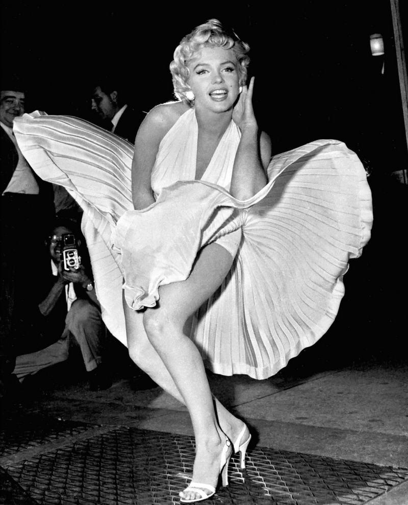 7. Мэрилин Монро, 1954 год.