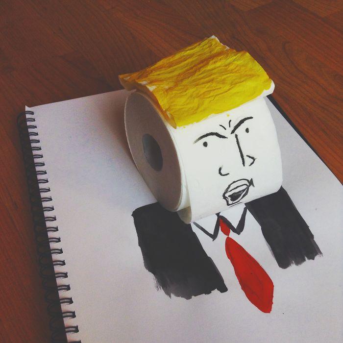 3. Трамп.