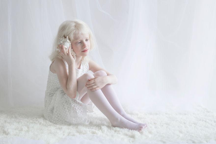 10. «Я поняла, что белый, это не только один цвет», говорит Юлия.