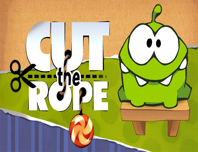 3. Cut the Rope.