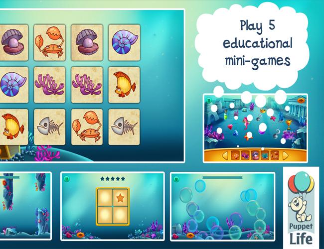 7. Подводный мир для детей.