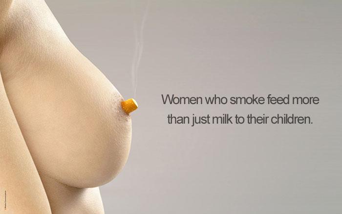 11. Курящие кормящие женщины.