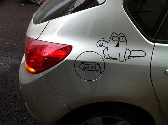 3. Кот Саймона.