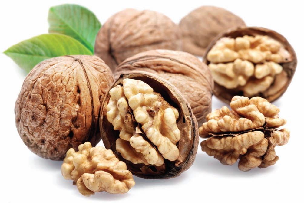 5. Грецкие орехи.