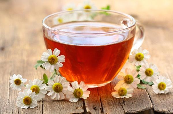 8. Ромашковый чай.