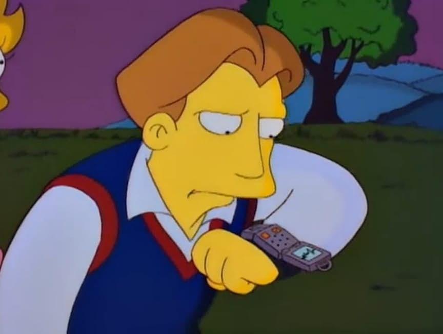 1. Умные часы (эпизод Свадьба Лизы, 19 марта 1995).