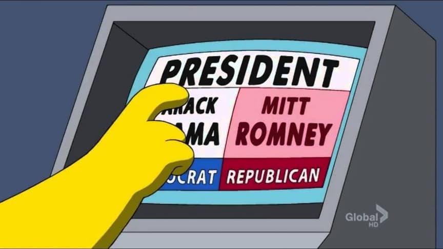 3. Сломанная машина для голосования (Маленький домик ужасов на дереве 19, 2 ноября, 2008).
