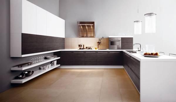 1. Перед вами идеальная кухня. Ну или вот ссылка на сайт, где есть и другие кухни. Но какой бы ни была идеальной кухня, ее определяет не мебель, а кухонная утварь и приборы. Что же может пригодиться в таком идеальном интерьере?