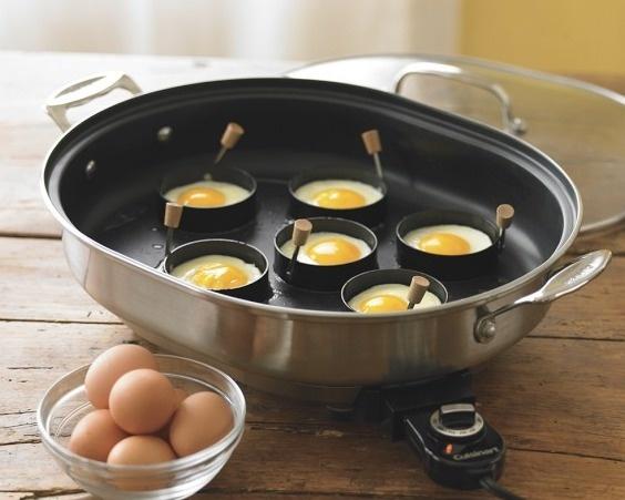 16. Вы знаете, как сделать идеальную яичницу? С помощью этого девайса.