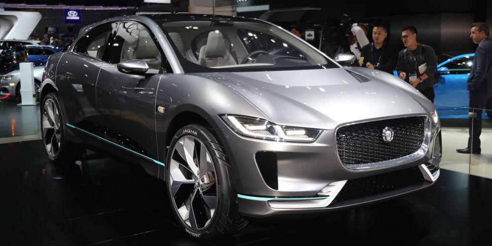 3. Jaguar I-Pace.