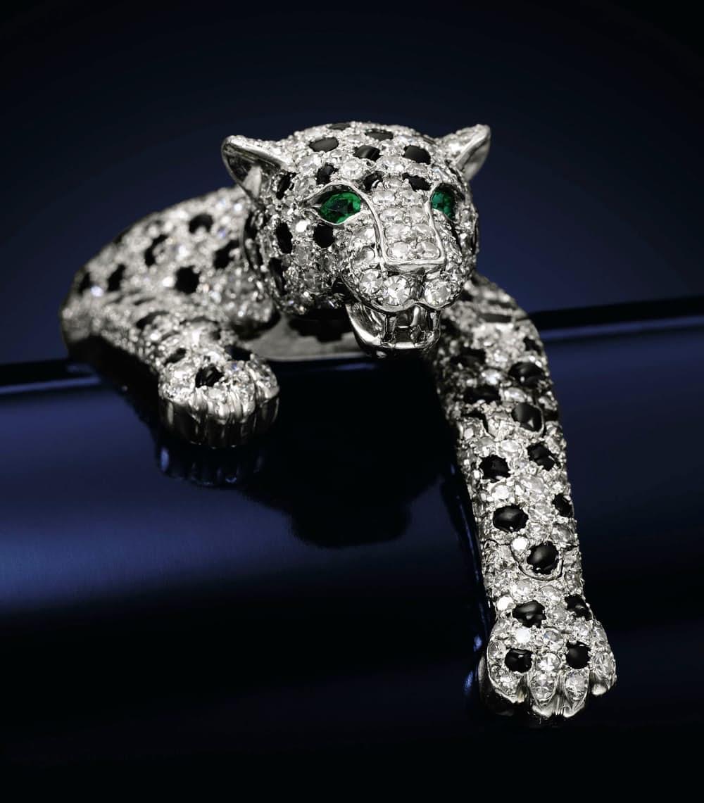 1. Браслет пантера, принадлежащий Уоллис Симпсон. $12.4 млн.