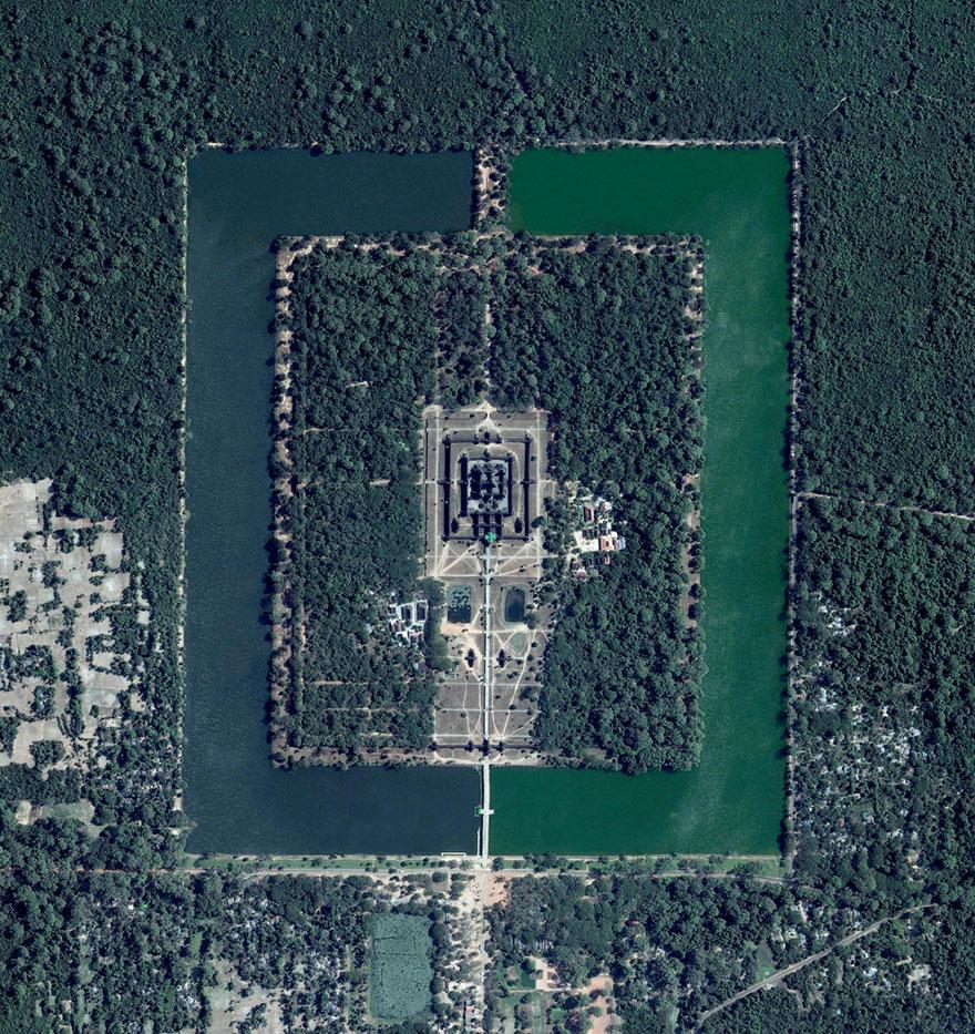 10. Ангкор, Камбоджа.