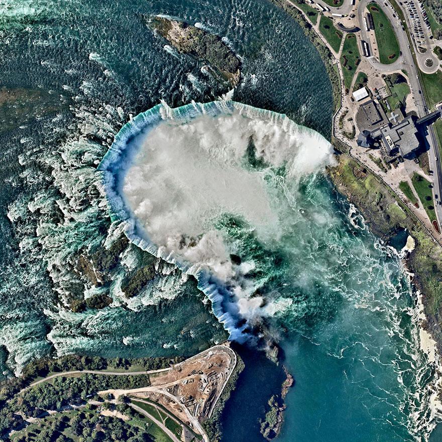 7. Ниагарский водопад, Канада и США.