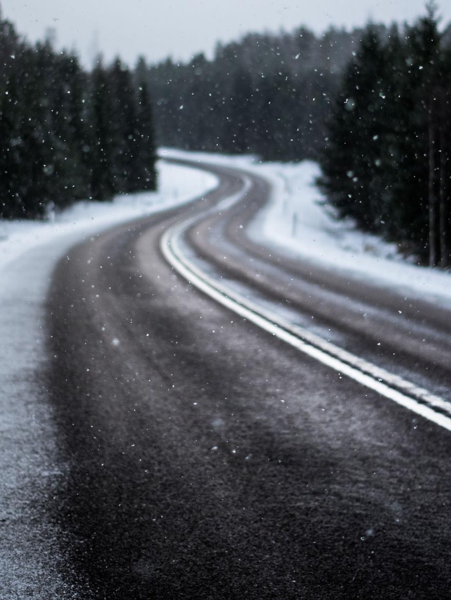 3. Первый снег.