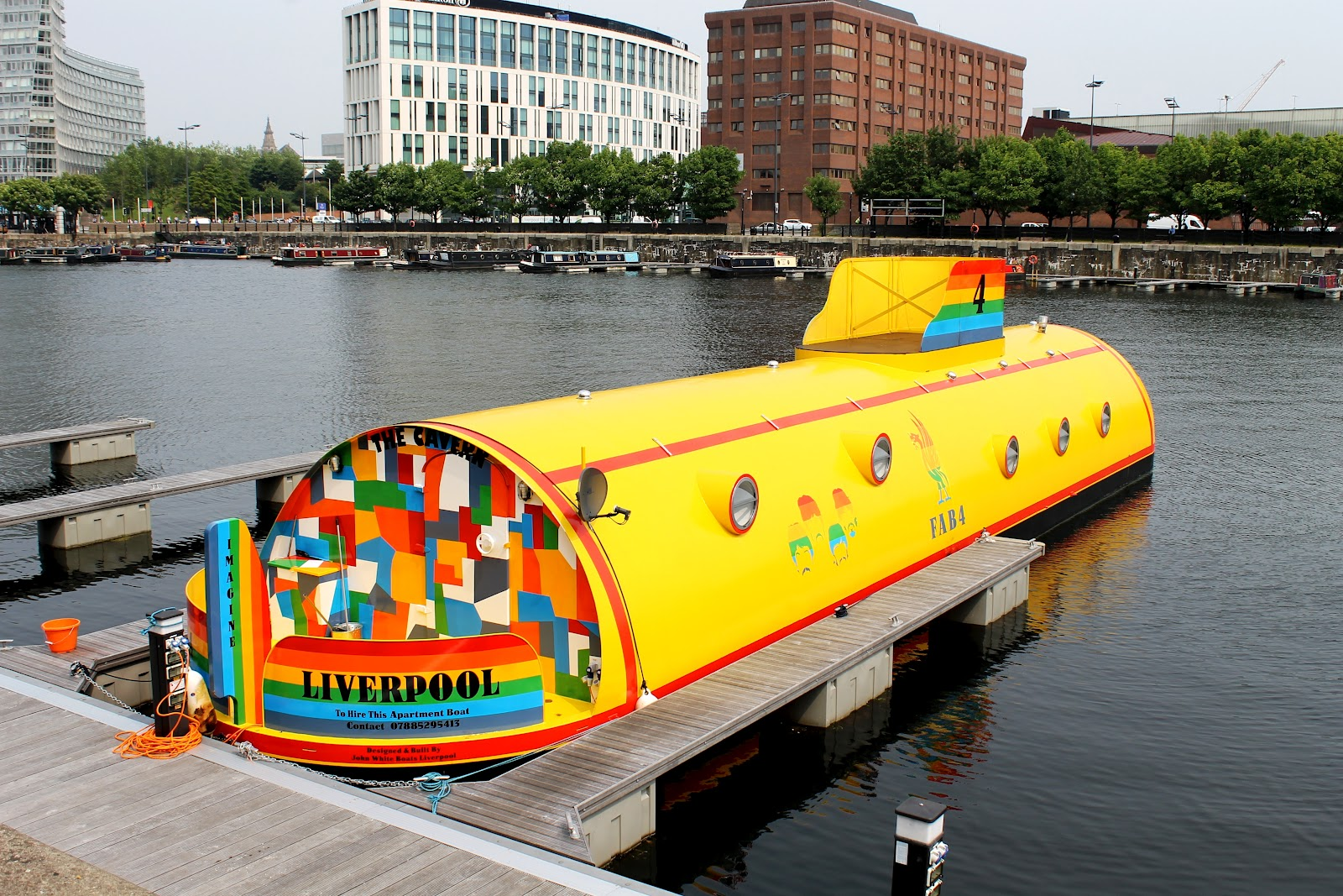 5. Yellow Submarine, Ливерпуль, Великобритания.