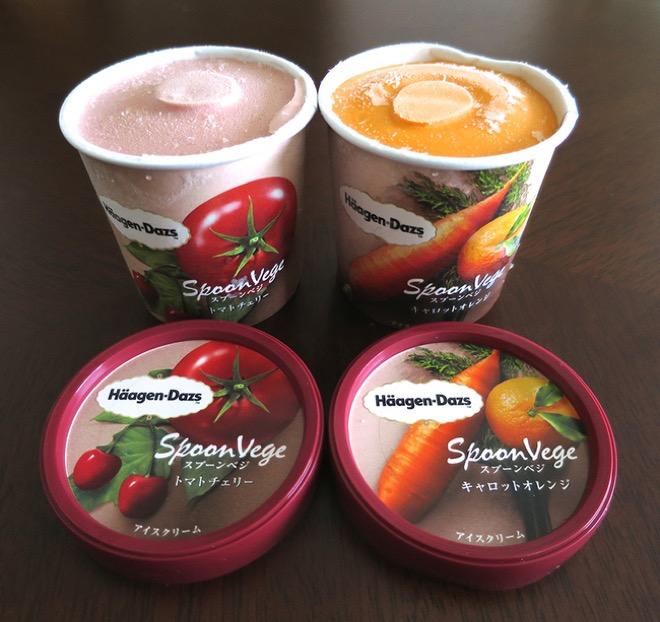18. Япония. Мороженное со вкусом томатов и вишни и моркови и мандарина. На самом деле в моркови нет ничего удивительного. Мы же едим морковный торт.