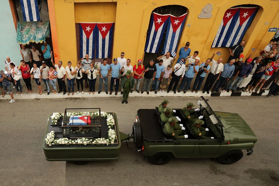 12. Декабрь. Похороны кубинского лидера Фиделя Кастро.